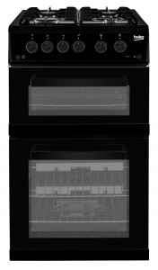 beko-50cm-double-oven-gas-cooker