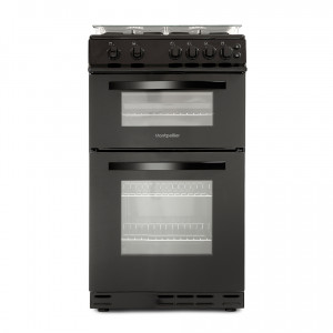 montpellier-50cm-lidded-double-oven-black-gas-cooker
